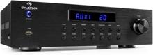 AV2-CD850BT 4-Zoner Stereo-Förstärkare 5x80W RMS Bluetooth USB CD svart