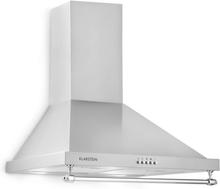 Montblanc köksfläkt 610m³/h 165W 2x1,5W LED räcke silvergrå