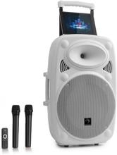 "Streetstar 12 mobilt PA-system 12"" (30,5 cm) 2 x UHF-mick 800 W max. vitt"