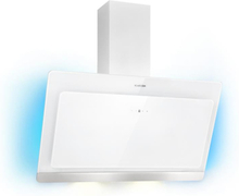 Aurora Eco 90 köksfläkt 550 m³/h LED-display vit