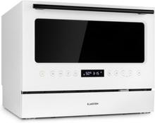 Azuria diskmaskin EEK A+ 1380W 6,5l 6 täckt glasfront vit