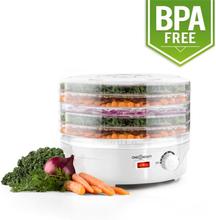 Bonsai Torkautomat 5 Nivåer Dehydrator 250 Watt vit