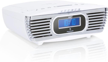 Dreamee DAB+ klockradio CD-player DAB+/FM CD-R/RW/MP3 AUX retro vit