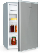 Delaware kylskåp A++ 76 liter 4-liter-frysfack silver/grå