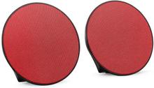 Dynasphere portabel bluetooth-högtalare AUX röd