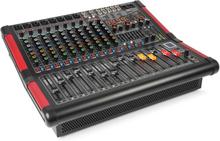 PDA-S1204A 12-kanal-mixer med inbyggd förstärkare (2x350 RMS)