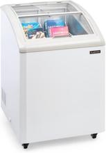 Pro Eispalast frysbox fristående 100l skjutbart glaslock vit