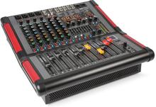 PDA-S804A 8-kanal-mixer med inbyggd förstärkare (2x350 RMS)
