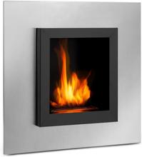 Phantasma Cuadro etanol-kamin rostfritt stål-brännare 600ml svart/silver