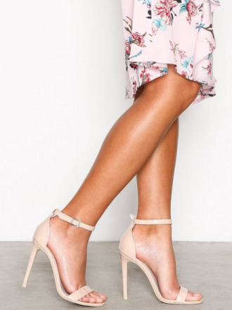 High Heel - Light Beige NLY Shoes High Heel Sandal