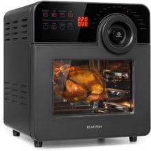 AeroVital Cube Chef varmluftsfritös 1700W 14l 16 program svart