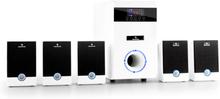 5.1-JW multimedia surround-set aktiv högtalare hemmabio 95W RMS AUX vit