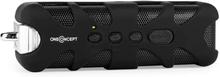 Black Know Bluetooth-högtalare AUX batteri svart