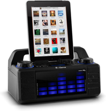 Energy XD2 party-högtalarsystem fader mixer Bluetooth USB MP3