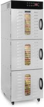 Master Jerky 550 torkautomat 2400W 40-90 °C 24h-timer rostfritt stål silver