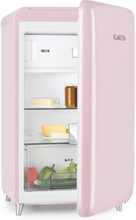 PopArt Pink Retro-Kylskåp A++ 108 l / 13 l Frysfack rosa