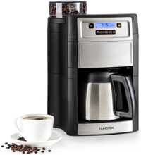 Aromatica II Thermo kaffemaskin, kvarn, 1,25 l, silver