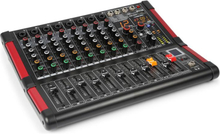 PDM-M804 Music Mixer 8 Mikrofoningångar 24-Bit Multi FX-Processor