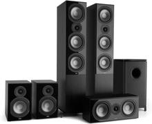 Reference 851 5.1-Soundsystem svart