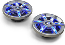 CS-LED4 10cm bilhögtalare 500W ljuseffekt showcars