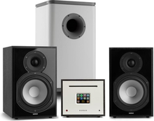Unison Reference 802 Edition stereoanläggning förstärkare boxar svart/grå