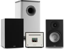 Unison Reference 802 Edition stereoanläggning förstärkare box vit/svart/grå