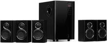 Areal Touch 5.1 högtalarsystem 200 W max. OneSide-subwoofer BT USB SD