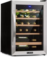 Vinamour 19 vinkylskåp 19 fl./65 l   4-18°C   39 dB   glas   svart