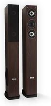 Line 4707 golvhögtalare 4-vägs-HiFi-högtalare-par 960W trä-optik