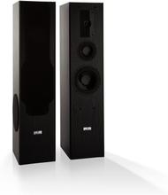 Line E 1005 golvhögtalare 3-vägs-HiFi-högtalare max 700 W svart