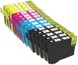 Kompatible - Epson T1281 /T1282 /T1283 /T1284, Sampak 14 stk , 92 ml