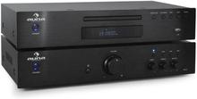 2.0 Hifi-set Auna Elegance Tower CD-spelare 600W
