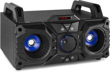 MDJ95 Party Station Bluetooth USB/SD/AUX batteri svart