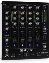 STM-7010 4-kanals DJ-mixer USB MP3 EQ