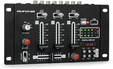 DJ-21 BT DJ-mixer mixerbord Bluetooth USB svart