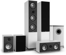 Reference 851 5.1-Soundsystem vitt inkl. överdrag i svart