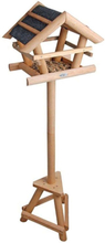 Esschert Design foderbræt FB255 til fugle, med asfalttag, i gaveæske