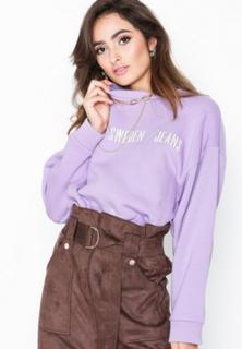 Tiger Of Sweden Jeans Big Marz Fleece Sweatshirts Lilac