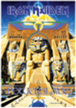 Flagga - iron maiden - powerslave