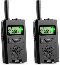Zodiac Micro 446 Komradiopaket Svart 2-pack Svart 2-pack