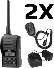 Zodiac Freetalk Pro Komradiopaket 2 enheter med laddare