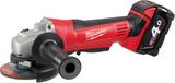 Milwaukee HD18 AG-125-402C Vinkelslip med batterie