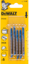 Dewalt DT2161 Sticksågsblad 5-pack