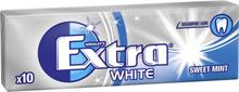 """Tuggummin """"White Sweet Mint"""" 14g - 49% rabatt"""