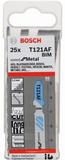 Bosch Speed for Metal Sticksågsblad För 1-3mm plåt