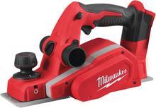 Milwaukee M18 BP-0 Hyvel utan batterier och laddare