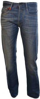 Replay Replay Herre Newbill Jeans rød/blå 30/32