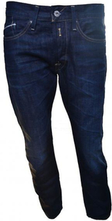 Replay Replay mænds Waitom dybe blå Denim regelmæssig Slim Jeans 30/32