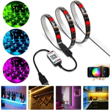 Led Strip Lights Tv Back Light 5050 Rgb Color Change Bluetooth 2 M