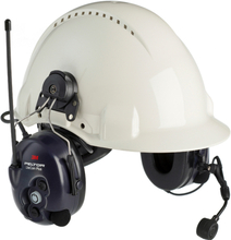 3M Peltor LiteCom Plus Hörselskydd med komradio med hjälmfäste